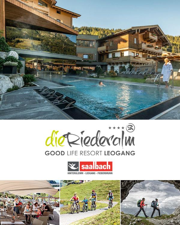 Hotel Die Riederalm - Sommerurlaub im Familienhotel im Leogang